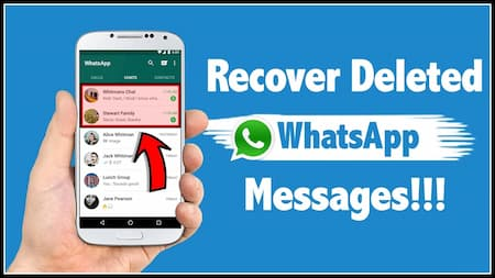 How to recover Whatsapp chats